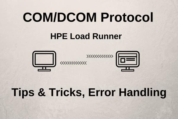 COM/DCOM Protocol – Recording Tips & Tricks, Error Handling