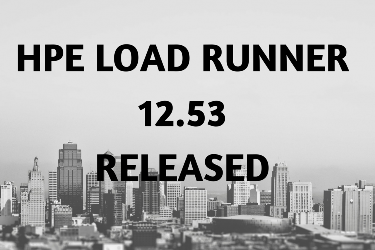 Latest Updates in HPE Load Runner 12.53